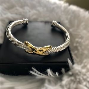 Stainless Steel Cable Cuff Bracelet Adjustable